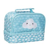 Twin Top Lunch Box - Cloud