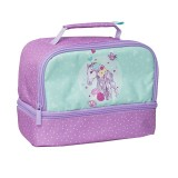 Twin Top Lunch Box - Peony Pony