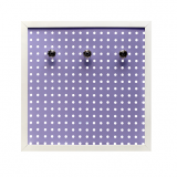 Art Square - White Peg Board