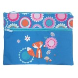 A4 Pencil Case - Funny Foxes