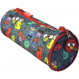 Barrel Pencil Case - Alien Attack