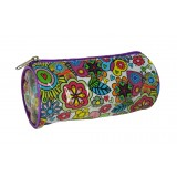 Barrel Pencil Case - Flutterby Cat
