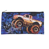 Rectangle Pencil Case - Big Wheels