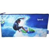 Rectangle Fabric Pencil Case - Surfer