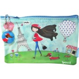 Glossy Pencil Case - Paris