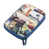Hard Head Pencil Case - Sports Collage