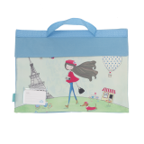 Library Bag - Paris Girl