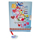 Secrets Notebook - Love and Peace