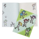 A4 Softcover Notebook - Band of Bones