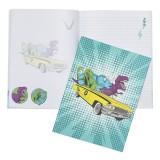 A4 Softcover Notebook - Jurassic Joy Ride