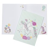 A4 Softcover Notebook - Peony Pony