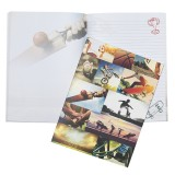 A4 Softcover Notebook - Sports Collage