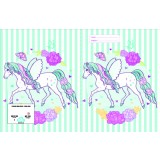 Exercise Book Cover - Peony Pony