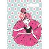 Scrapbook Cover - Ballerina