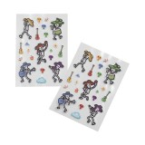 2pk Puffy Stickers - Band of Bones