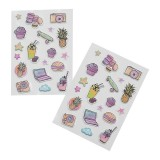 2pk Puffy Stickers - Friends Forever