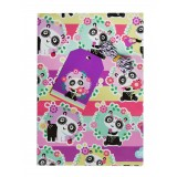 Wrapping Paper - Panda Love